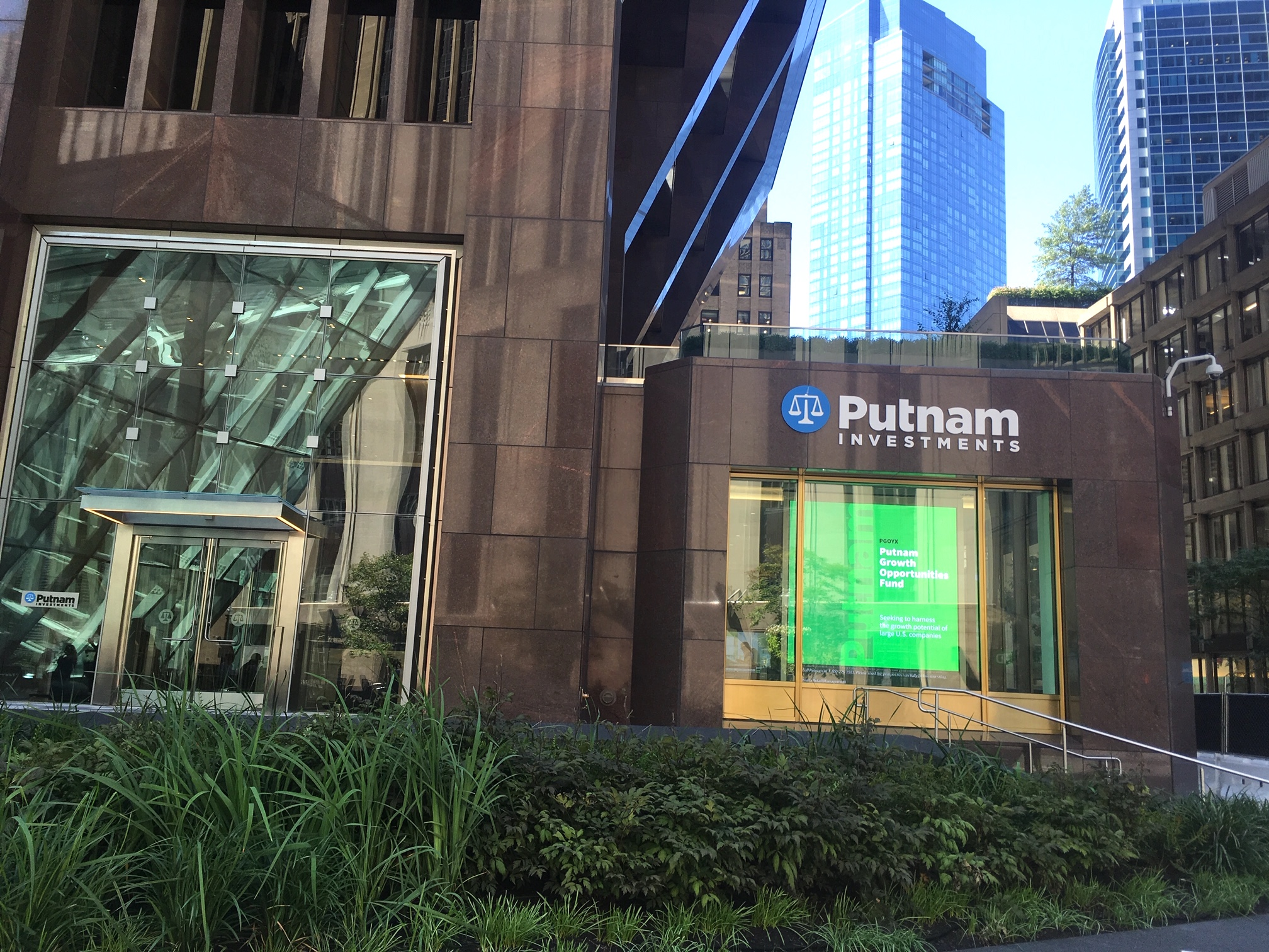 Putnam Investments Global Headquarters, 100 Federal Street, Boston, MA